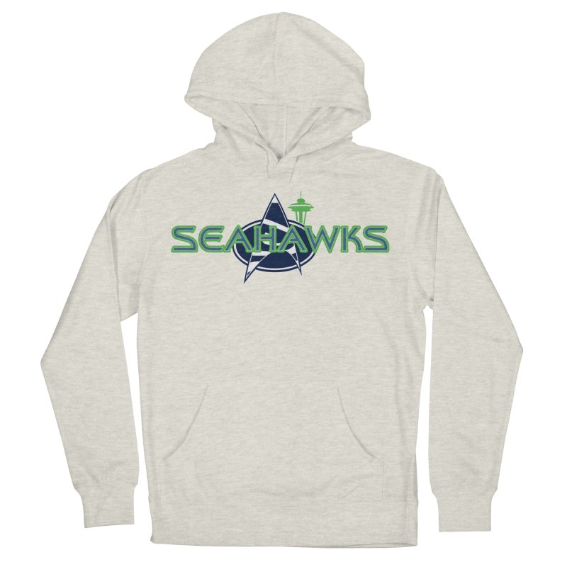Seattle, the Final Frontier Men's Pullover Hoody by Mike Hampton's T-Shirt Shop