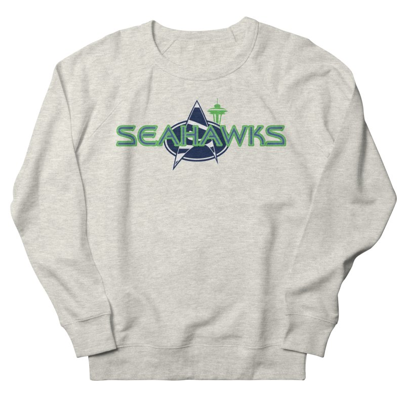 Seattle, the Final Frontier Women's Sweatshirt by Mike Hampton's T-Shirt Shop