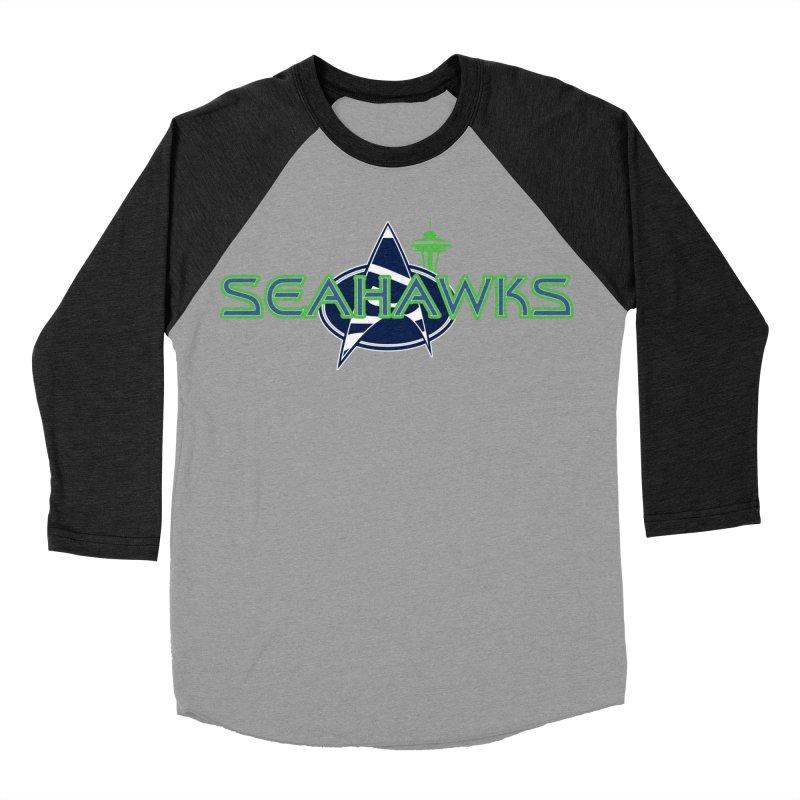 Seattle, the Final Frontier Women's Longsleeve T-Shirt by Mike Hampton's T-Shirt Shop