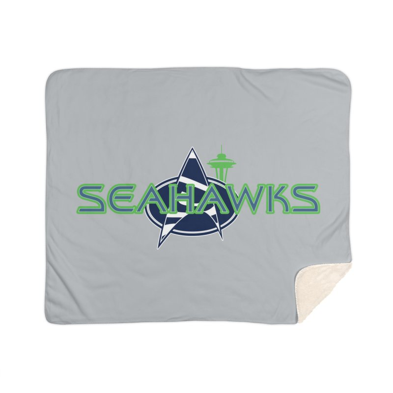 Seattle, the Final Frontier Home Blanket by Mike Hampton's T-Shirt Shop
