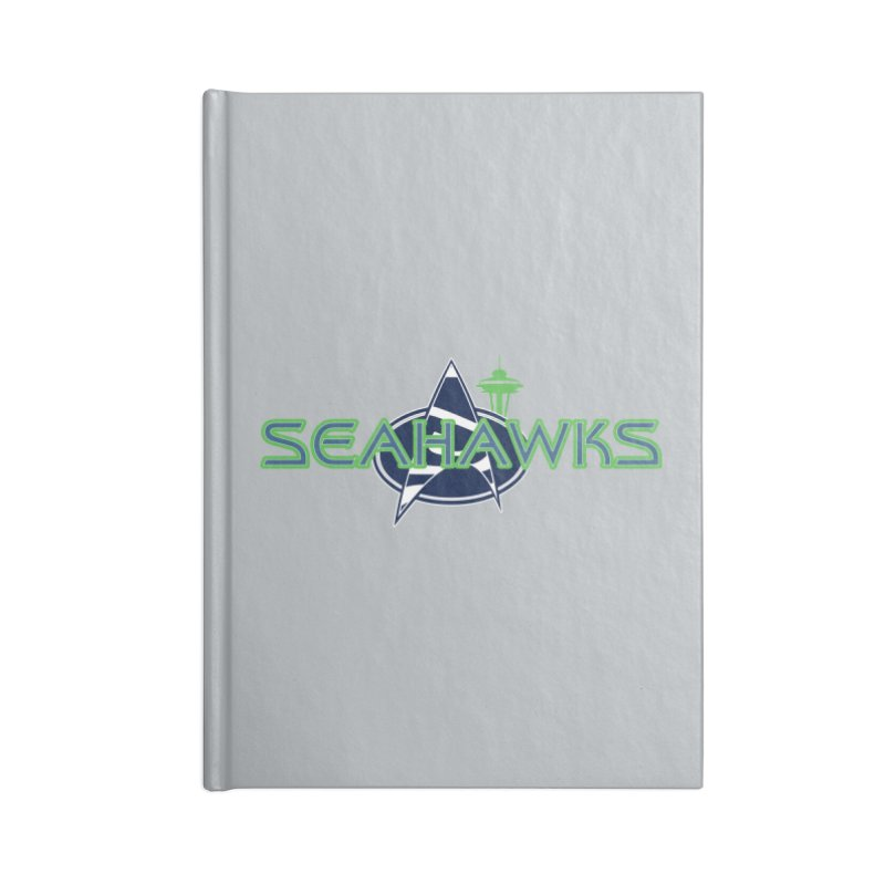 Seattle, the Final Frontier Accessories Blank Journal Notebook by Mike Hampton's T-Shirt Shop