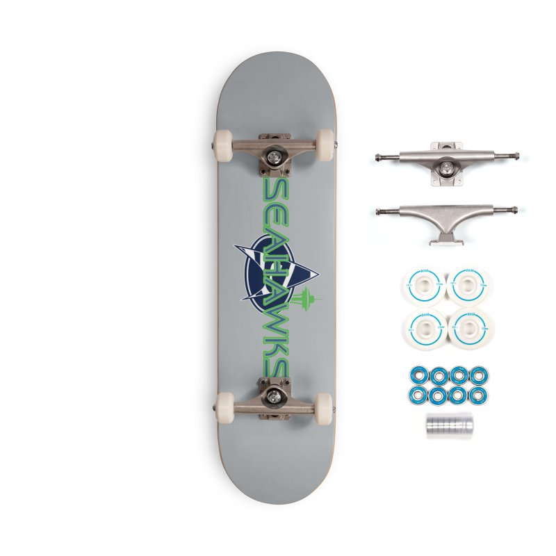 Seattle, the Final Frontier Accessories Skateboard by Mike Hampton's T-Shirt Shop