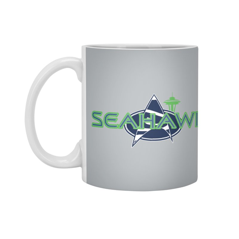 Seattle, the Final Frontier Accessories Mug by Mike Hampton's T-Shirt Shop