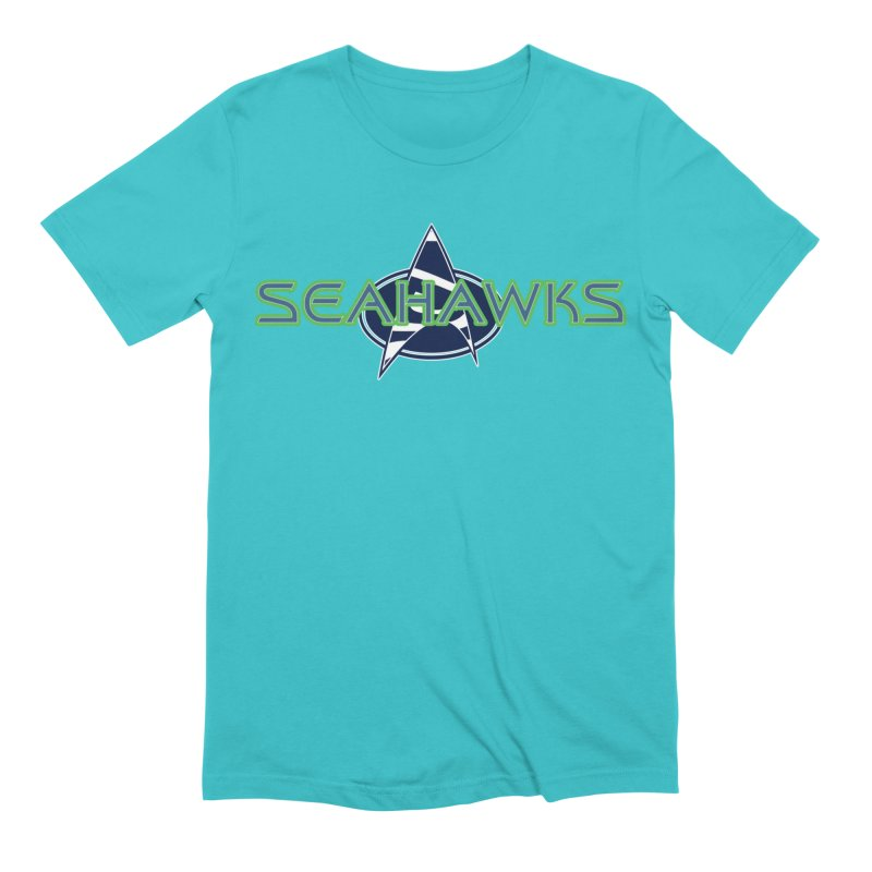 Seattle, the Final Frontier Men's Extra Soft T-Shirt by Mike Hampton's T-Shirt Shop