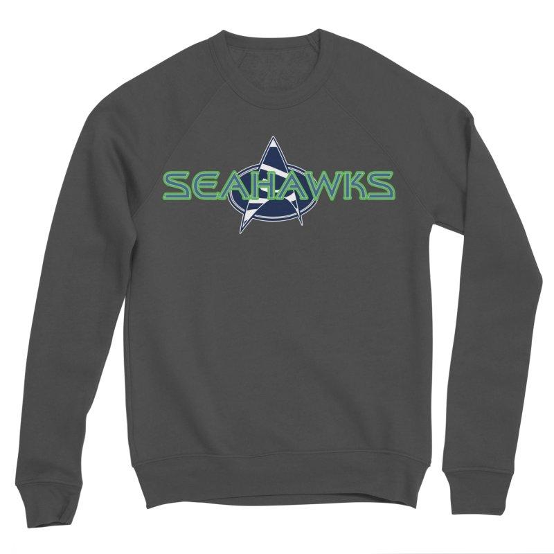 Seattle, the Final Frontier Women's Sponge Fleece Sweatshirt by Mike Hampton's T-Shirt Shop