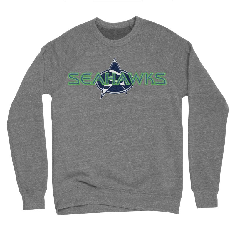 Seattle, the Final Frontier Men's Sponge Fleece Sweatshirt by Mike Hampton's T-Shirt Shop