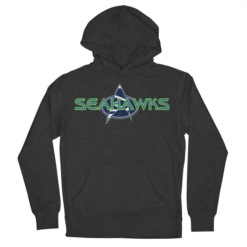 Seattle, the Final Frontier Men's French Terry Pullover Hoody by Mike Hampton's T-Shirt Shop