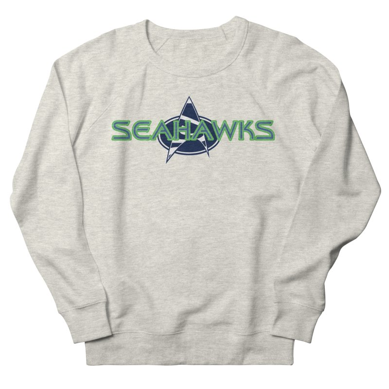 Seattle, the Final Frontier Women's French Terry Sweatshirt by Mike Hampton's T-Shirt Shop