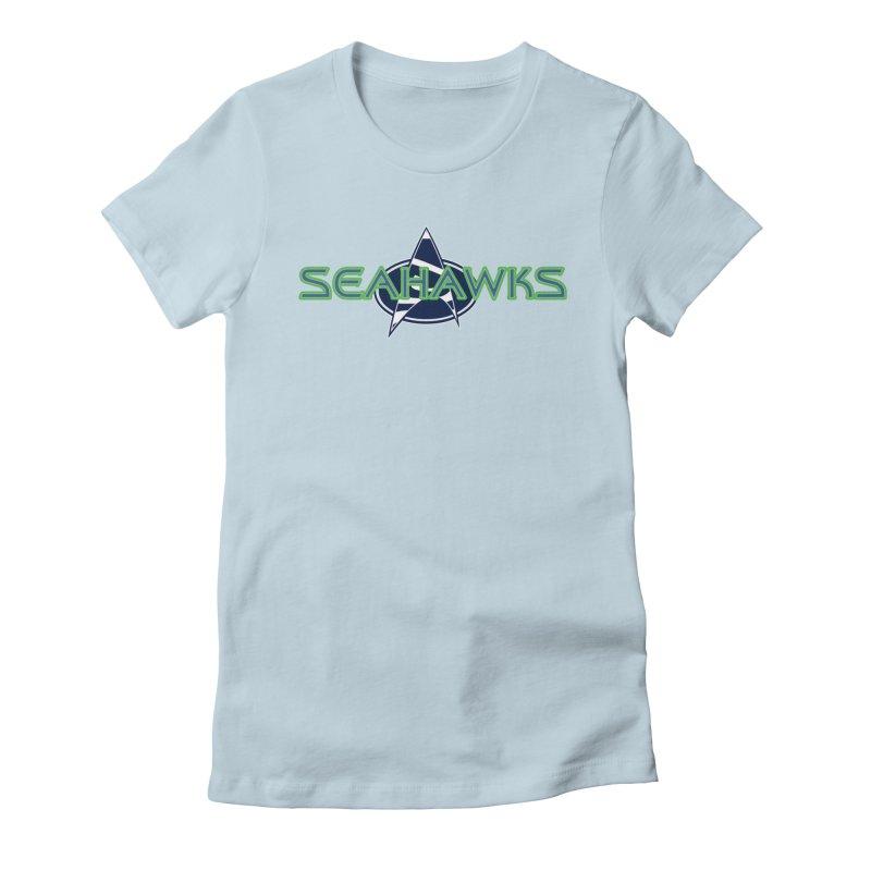 Seattle, the Final Frontier Women's T-Shirt by Mike Hampton's T-Shirt Shop