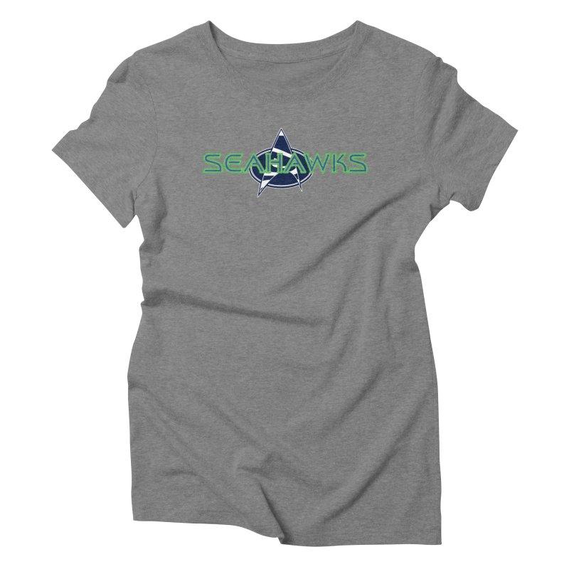 Seattle, the Final Frontier Women's Triblend T-Shirt by Mike Hampton's T-Shirt Shop