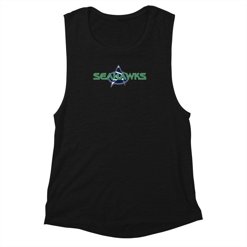 Seattle, the Final Frontier Women's Tank by Mike Hampton's T-Shirt Shop