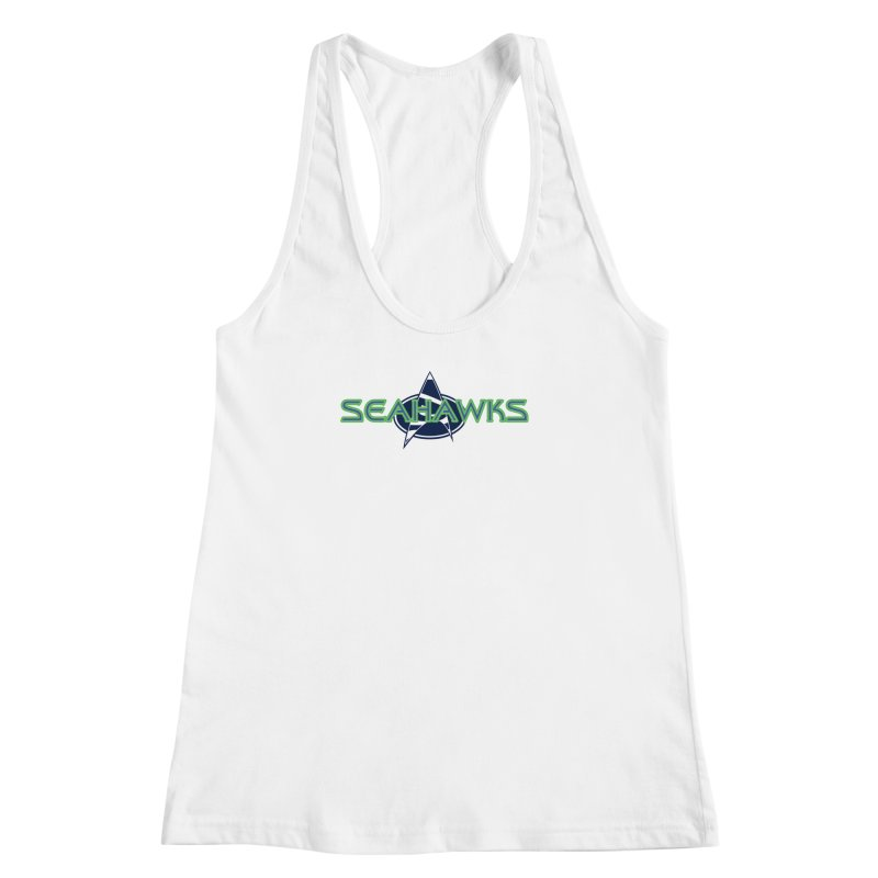 Seattle, the Final Frontier Women's Racerback Tank by Mike Hampton's T-Shirt Shop