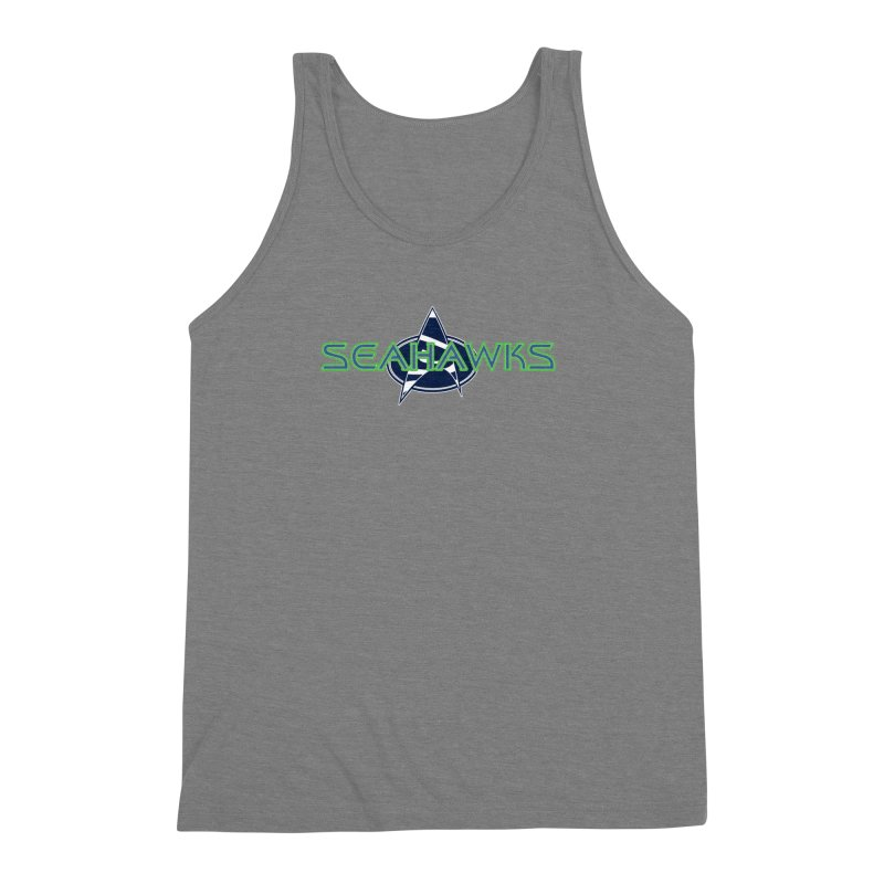 Seattle, the Final Frontier Men's Triblend Tank by Mike Hampton's T-Shirt Shop
