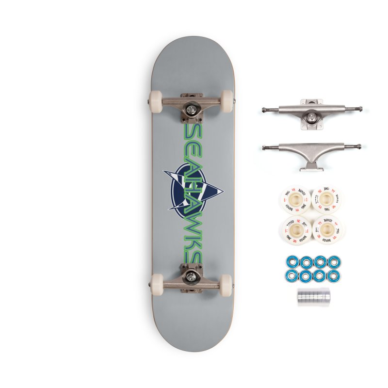 Seattle, the Final Frontier Accessories Complete - Premium Skateboard by Mike Hampton's T-Shirt Shop