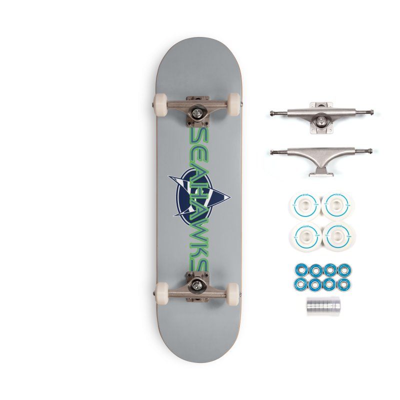 Seattle, the Final Frontier Accessories Complete - Basic Skateboard by Mike Hampton's T-Shirt Shop