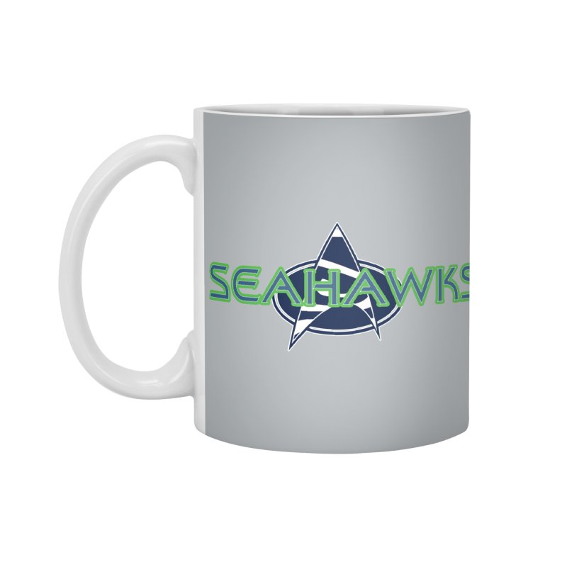 Seattle, the Final Frontier Accessories Standard Mug by Mike Hampton's T-Shirt Shop