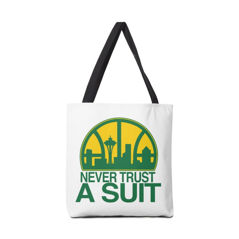 What Happened to the Sonics? Accessories Tote Bag Bag by Mike Hampton's T-Shirt Shop