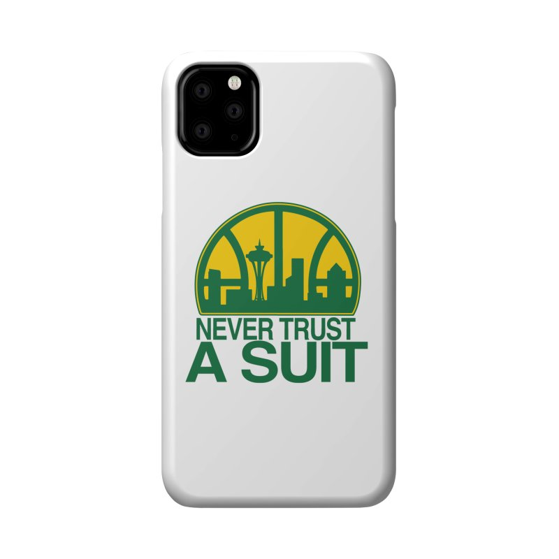 What Happened to the Sonics? Accessories Phone Case by Mike Hampton's T-Shirt Shop