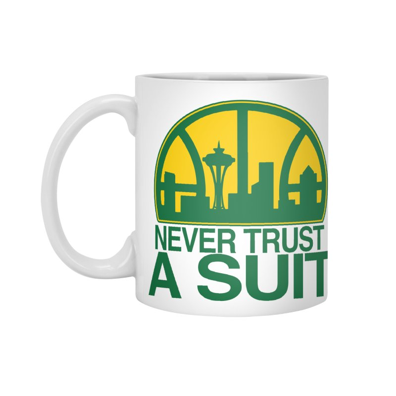 What Happened to the Sonics? Accessories Standard Mug by Mike Hampton's T-Shirt Shop