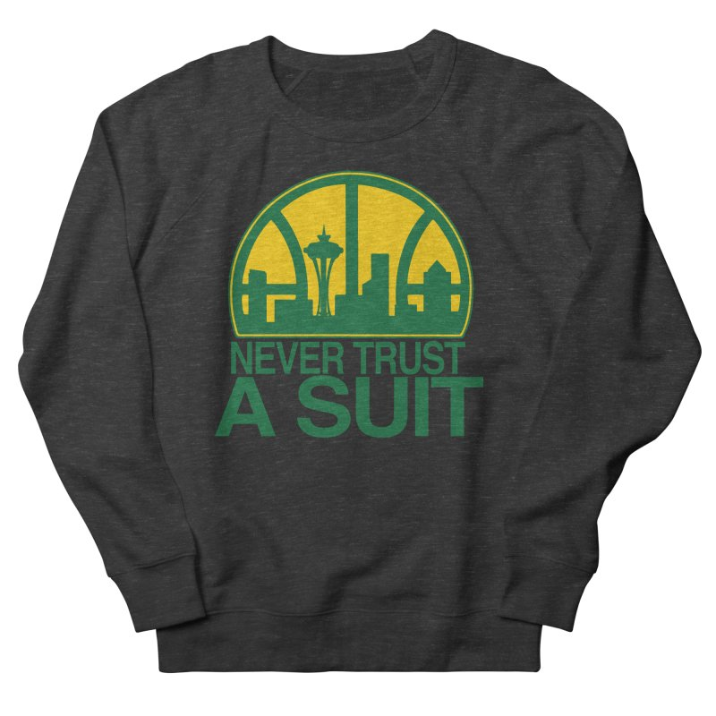What Happened to the Sonics? Men's Sweatshirt by Mike Hampton's T-Shirt Shop