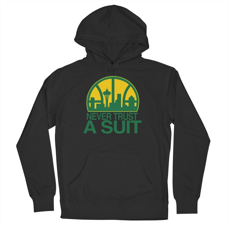 What Happened to the Sonics? Men's Pullover Hoody by Mike Hampton's T-Shirt Shop