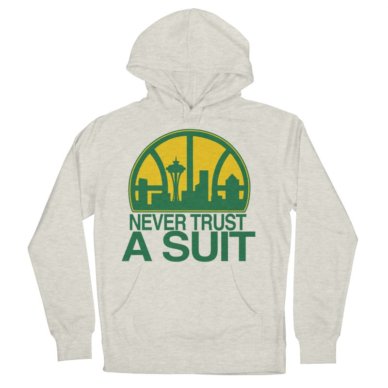 What Happened to the Sonics? Women's French Terry Pullover Hoody by Mike Hampton's T-Shirt Shop