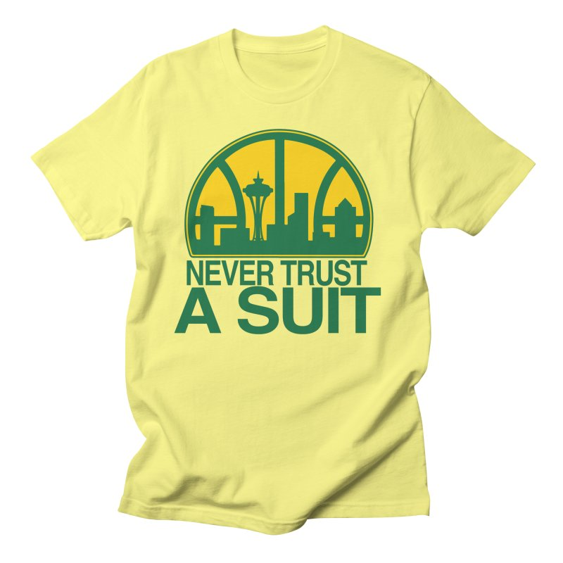 What Happened to the Sonics? Women's T-Shirt by Mike Hampton's T-Shirt Shop