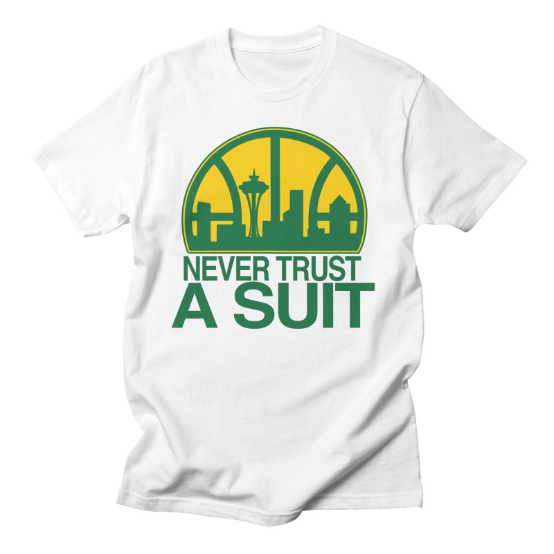 What Happened to the Sonics? Women's Regular Unisex T-Shirt by Mike Hampton's T-Shirt Shop