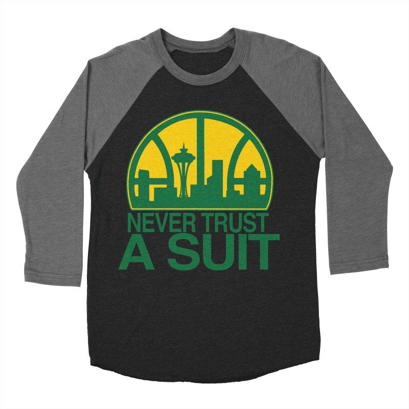 What Happened to the Sonics? Women's Baseball Triblend Longsleeve T-Shirt by Mike Hampton's T-Shirt Shop