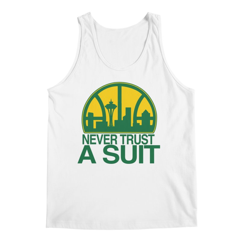 What Happened to the Sonics? Men's Tank by Mike Hampton's T-Shirt Shop