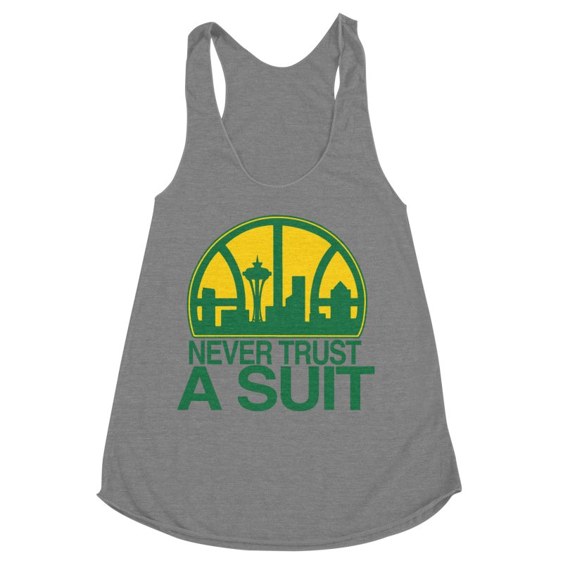 What Happened to the Sonics? Women's Tank by Mike Hampton's T-Shirt Shop