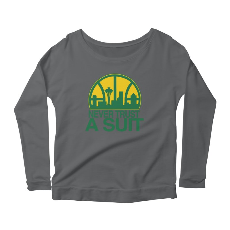 What Happened to the Sonics? Women's Longsleeve T-Shirt by Mike Hampton's T-Shirt Shop