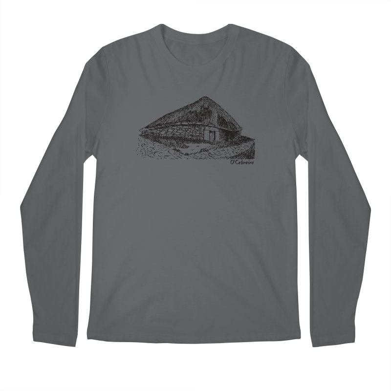 Camino de Santiago - O'Cebreiro Men's Longsleeve T-Shirt by Mike Petzold's Artist Shop
