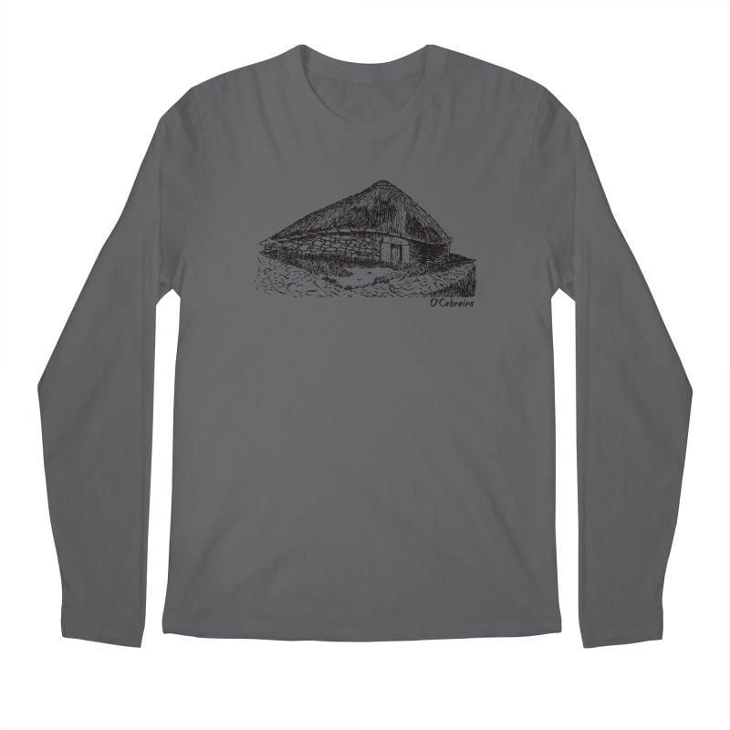 Camino de Santiago - O'Cebreiro Men's Regular Longsleeve T-Shirt by Mike Petzold's Artist Shop