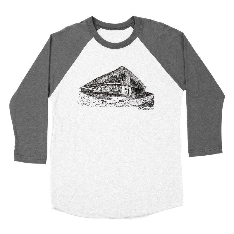 Camino de Santiago - O'Cebreiro Women's Baseball Triblend Longsleeve T-Shirt by Mike Petzold's Artist Shop
