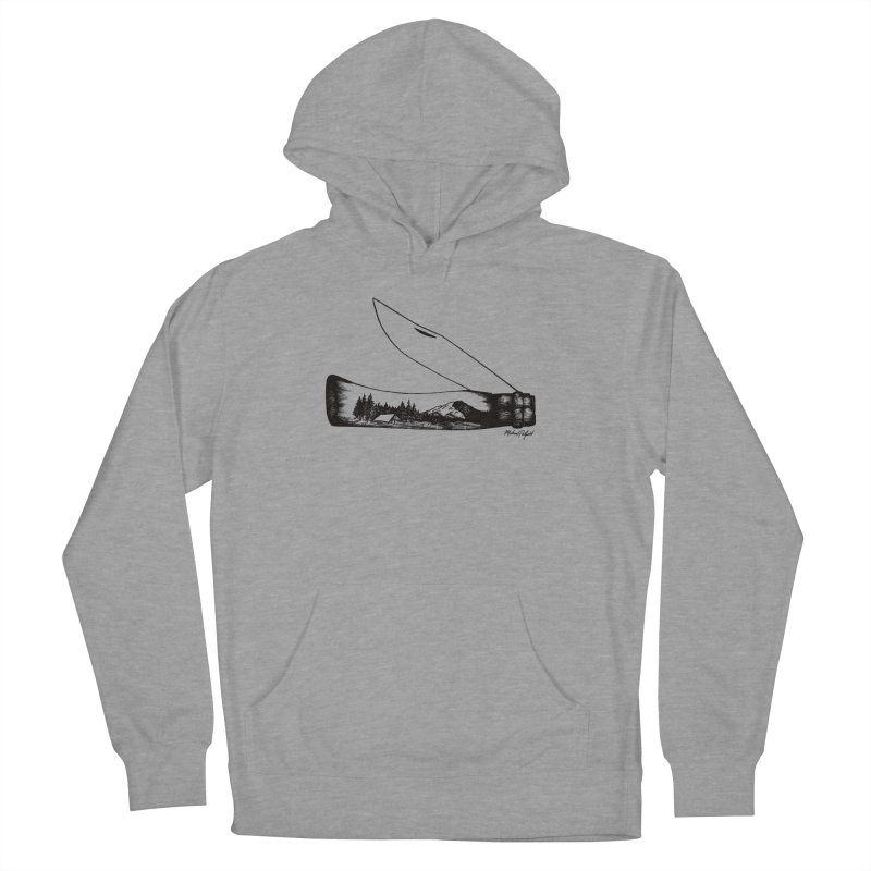Wild Shasta Women's Pullover Hoody by Mike Petzold's Artist Shop