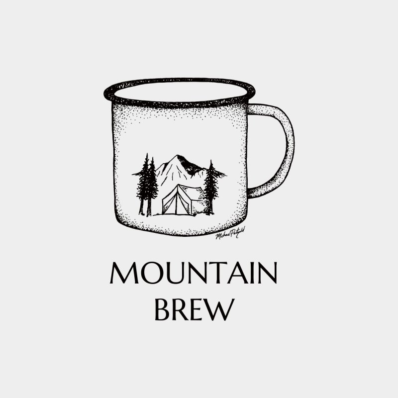Mountain Brew Women's Longsleeve T-Shirt by Mike Petzold's Artist Shop