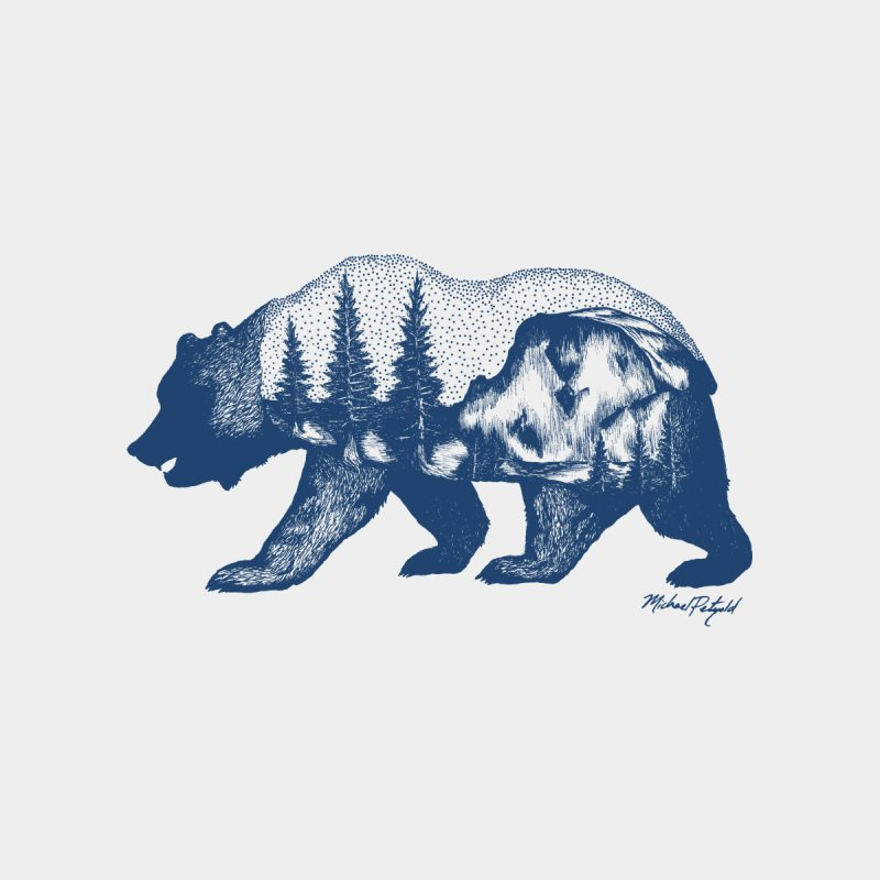 Limited Release! Yosemite Bear Kids Pullover Hoody by Mike Petzold's Artist Shop