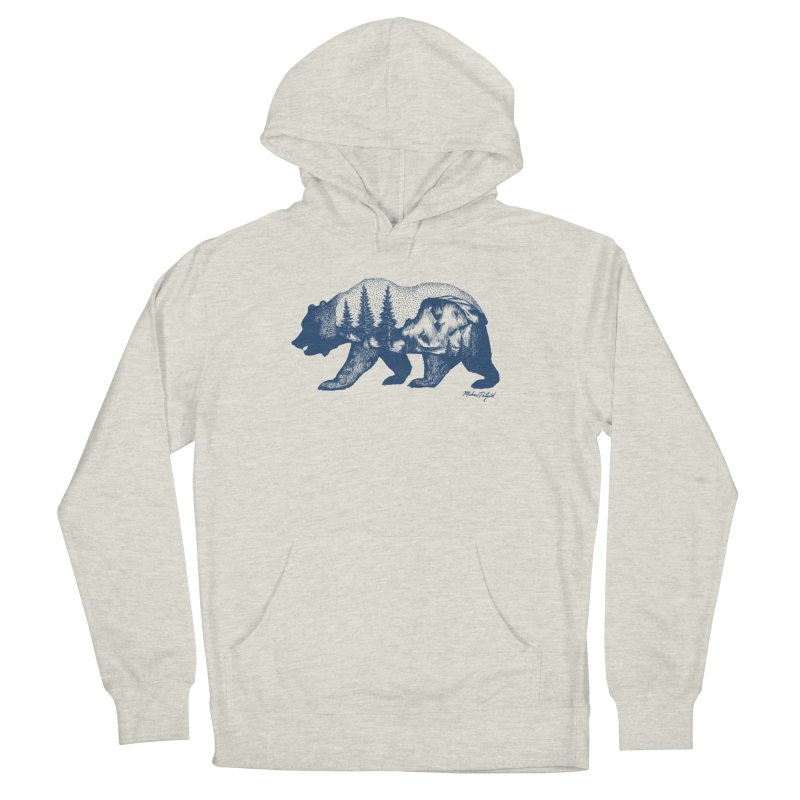 Limited Release! Yosemite Bear Men's Pullover Hoody by Mike Petzold's Artist Shop