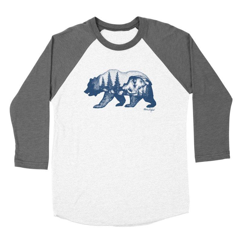 Limited Release! Yosemite Bear Women's Longsleeve T-Shirt by Mike Petzold's Artist Shop