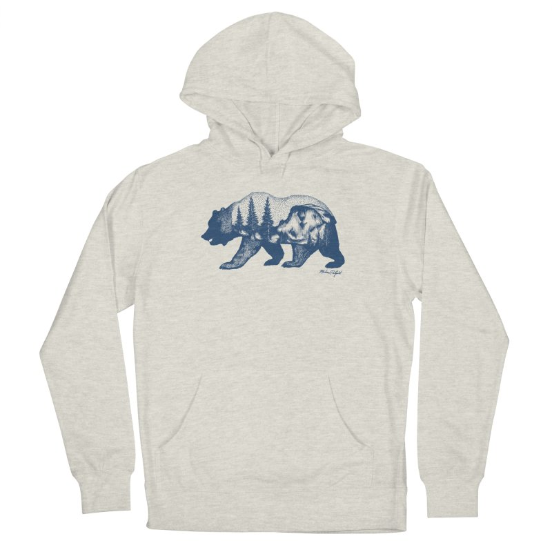 Limited Release! Yosemite Bear Men's French Terry Pullover Hoody by Mike Petzold's Artist Shop