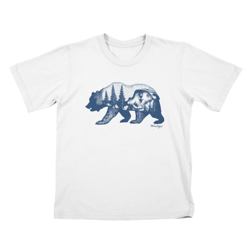 Limited Release! Yosemite Bear Kids T-Shirt by MikePetzold's Artist Shop
