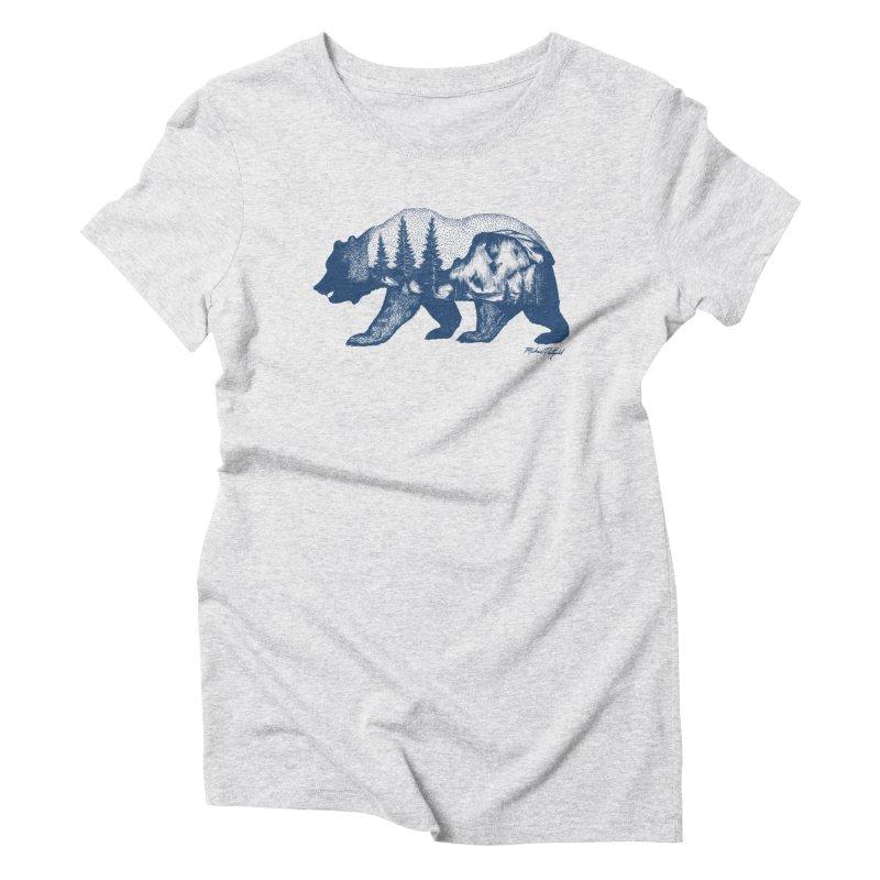 Limited Release! Yosemite Bear Women's T-Shirt by Mike Petzold's Artist Shop
