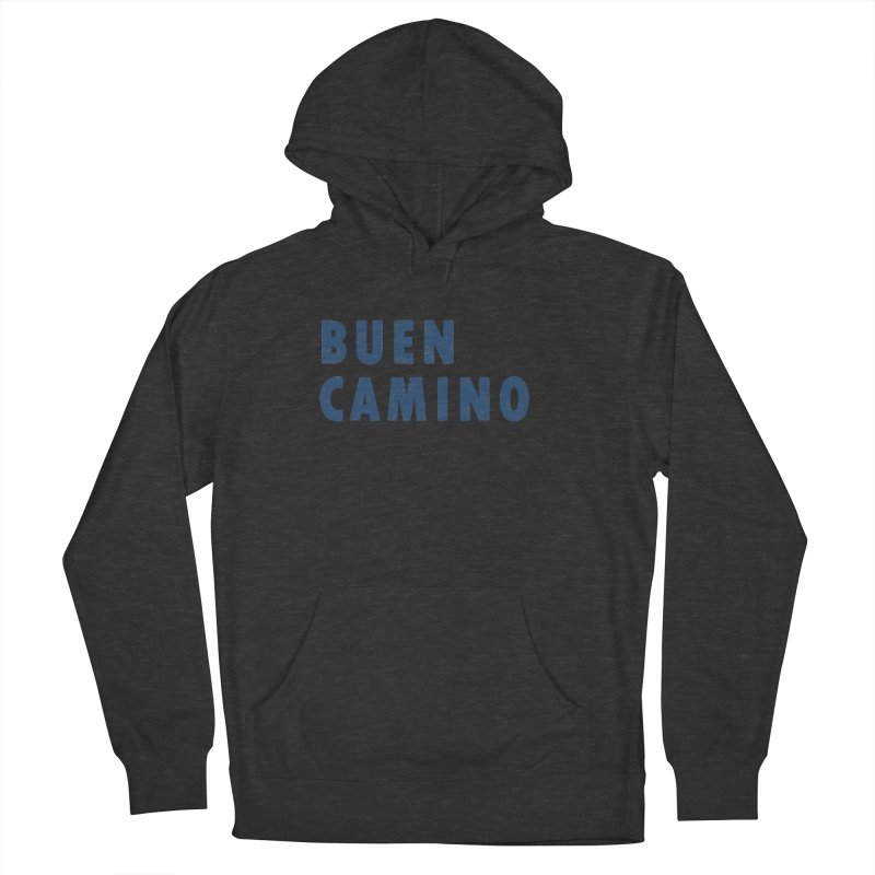 Buen Camino! Women's French Terry Pullover Hoody by Mike Petzold's Artist Shop
