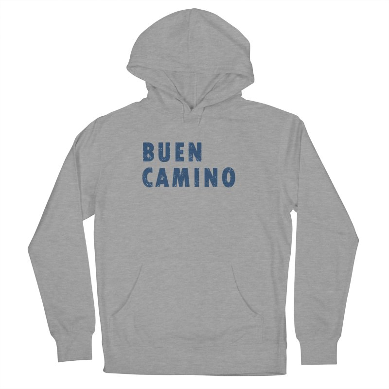 Buen Camino! Men's French Terry Pullover Hoody by Mike Petzold's Artist Shop
