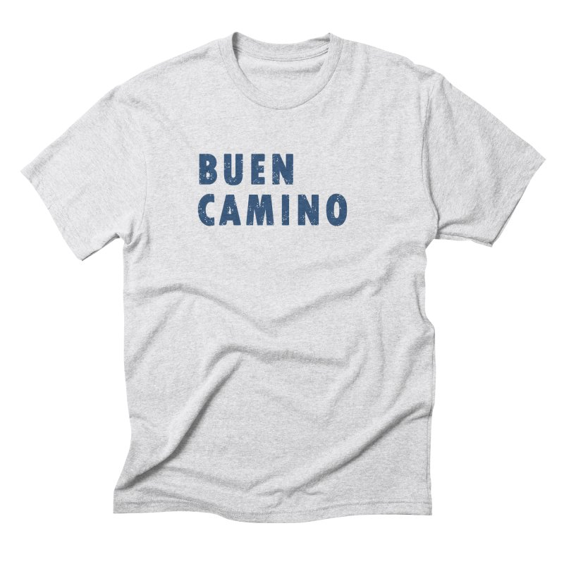 Buen Camino! in Men's Triblend T-Shirt Heather White by Mike Petzold's Artist Shop
