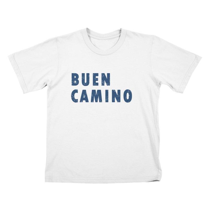Buen Camino! Kids T-Shirt by Mike Petzold's Artist Shop