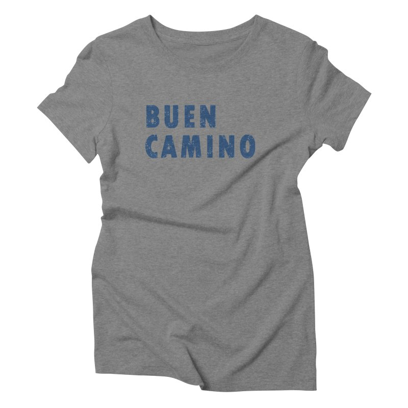 Buen Camino! Women's Triblend T-Shirt by Mike Petzold's Artist Shop