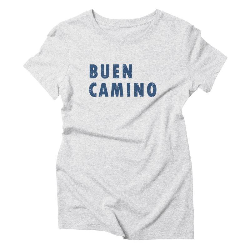 Buen Camino! Women's Triblend T-Shirt by MikePetzold's Artist Shop