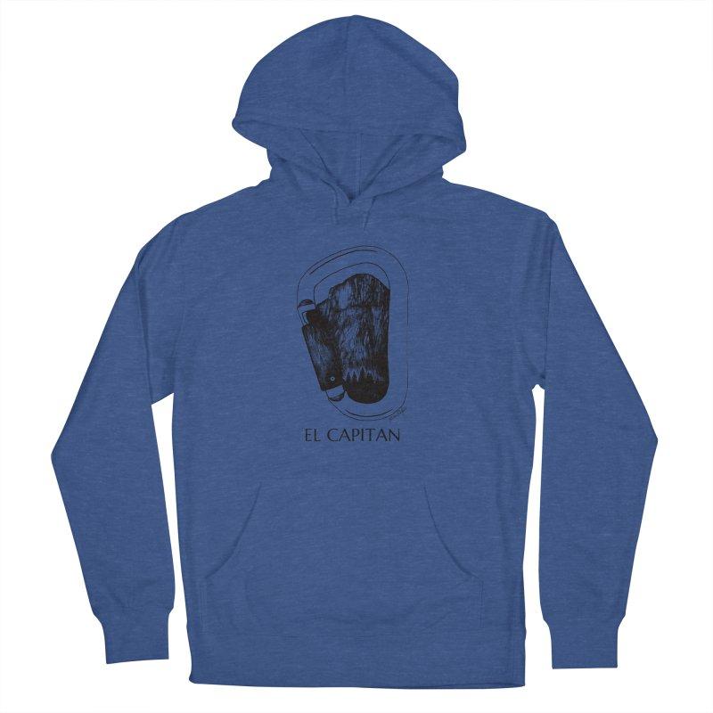 Climb El Capitan Men's Pullover Hoody by Mike Petzold's Artist Shop